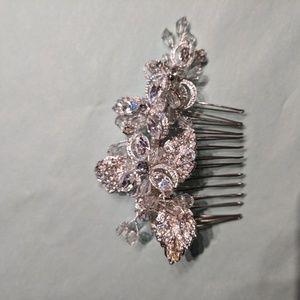Swarkovski crystal hair piece